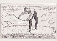 The working mower, 1909, hodler