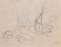 The wounded standard bearer Hans Baer, 1896, hodler