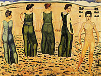 Youth Admired by Women, hodler