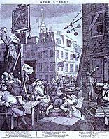 Beer Street , 1751, hogarth