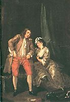 Before the Seduction and After, 1731, hogarth