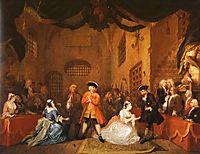 The Beggar-s Opera, 1729, hogarth