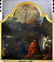 Central panel of the altar triptych, St Nicholas, Bristol, hogarth