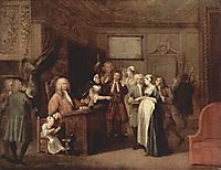 The Denunciation, c.1729, hogarth