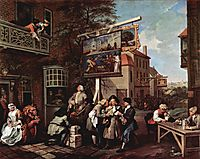 Election propaganda, 1755, hogarth