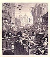 Gin Lane, 1751, hogarth