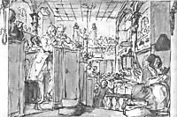 Industrious Prentice Performing Duties of Christian, hogarth