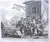 The Invasion, France, hogarth
