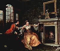 The Lady-s Last Stake , c.1759, hogarth