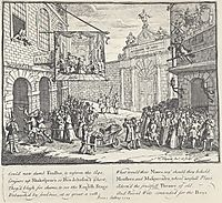 Lame theater, hogarth