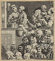 The Laughing Audience (or A Pleased Audience), hogarth