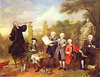 Lord Hervey and His Friends , c.1739, hogarth