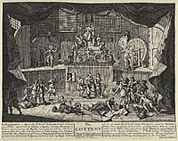 The Lottery, hogarth