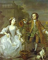 The Mackinen Children , 1747, hogarth