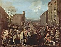 The March of the Guards to Finchley, 1750, hogarth