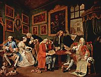 The Marriage Contract, c.1745, hogarth