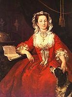 Miss Mary Edwards, 1742, hogarth