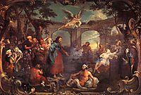 The Pool of Bethesda, 1736, hogarth