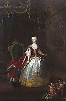 Portrait of Augusta of Saxe Gotha, hogarth