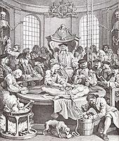 The Reward of Cruelty, 1751, hogarth