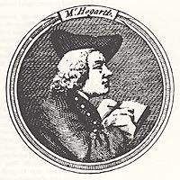 Self portrait (from the Gate of Calais), hogarth