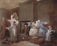 The Staymaker, c.1744, hogarth
