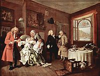 Suicide of the Countess, c.1745, hogarth