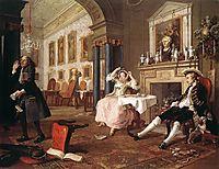 The Tete-a-Tete, 1743, hogarth