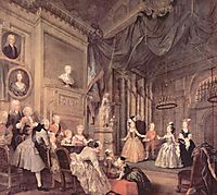 The Children-s Theater In The House Of John Conduit, 1732, hogarth