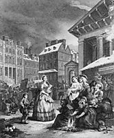 Times of the Day: Morning, hogarth