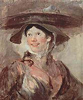 Untitled, dubbed The Shrimp Girl, sometimes The Saleswoman of Crabs , c.1745, hogarth