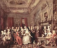 Wanstead Assembly at Wanstead_ House, c.1731, hogarth
