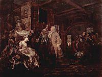 The Wedding Banquet, c.1745, hogarth