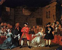 A Scene from the Beggar-s Opera, hogarth