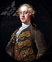 William Cavendish, Marquess of Hartington, Later 4th Duke of Devonshire, 1741, hogarth