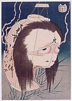 TheghostofOiwa, 1831, hokusai