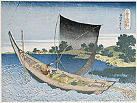 The riverToneinthe ProvinceofKazusa, hokusai