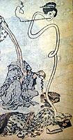 Rokurokubi, hokusai