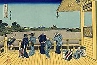 Sazai hall - 500 Rakan temples, hokusai