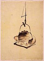 Tanuki, c.1840, hokusai