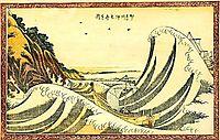 View of Honmoku, 1803, hokusai