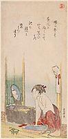 Woman , hokusai