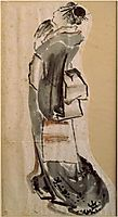 Womanprofile, hokusai