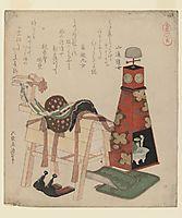 Wooden Horse, c.1822, hokusai