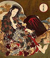 Yama-uba, hokusai