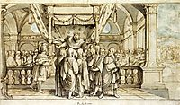 The Arrogance of Rehoboam, 1530, holbein