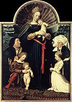 Darmstadt Madonna, 1526-1528, holbein