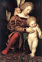 Darmstadt Madonna, detail 2, 1526-1528, holbein