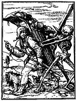Death and the Pedlar, c.1538, holbein