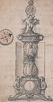 Design for Anthony Denny-s Clocksalt, holbein